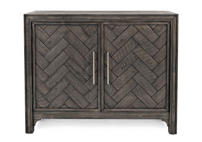 Image for Gramercy 2 Door Accent Cabinet Platinum