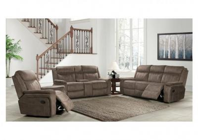 Image for Kisner Dual Reclining Sofa and Dual Reclining Love Seat