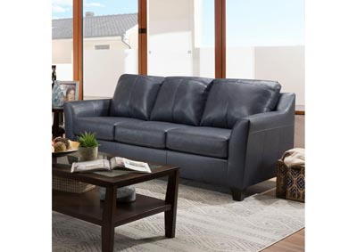 Image for Lane Furniture  Grant Top Grain Leather / Mate Sofa  Shale