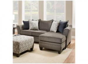 Image for Reagan Reversible Sofa Chaise - Albany Pewter