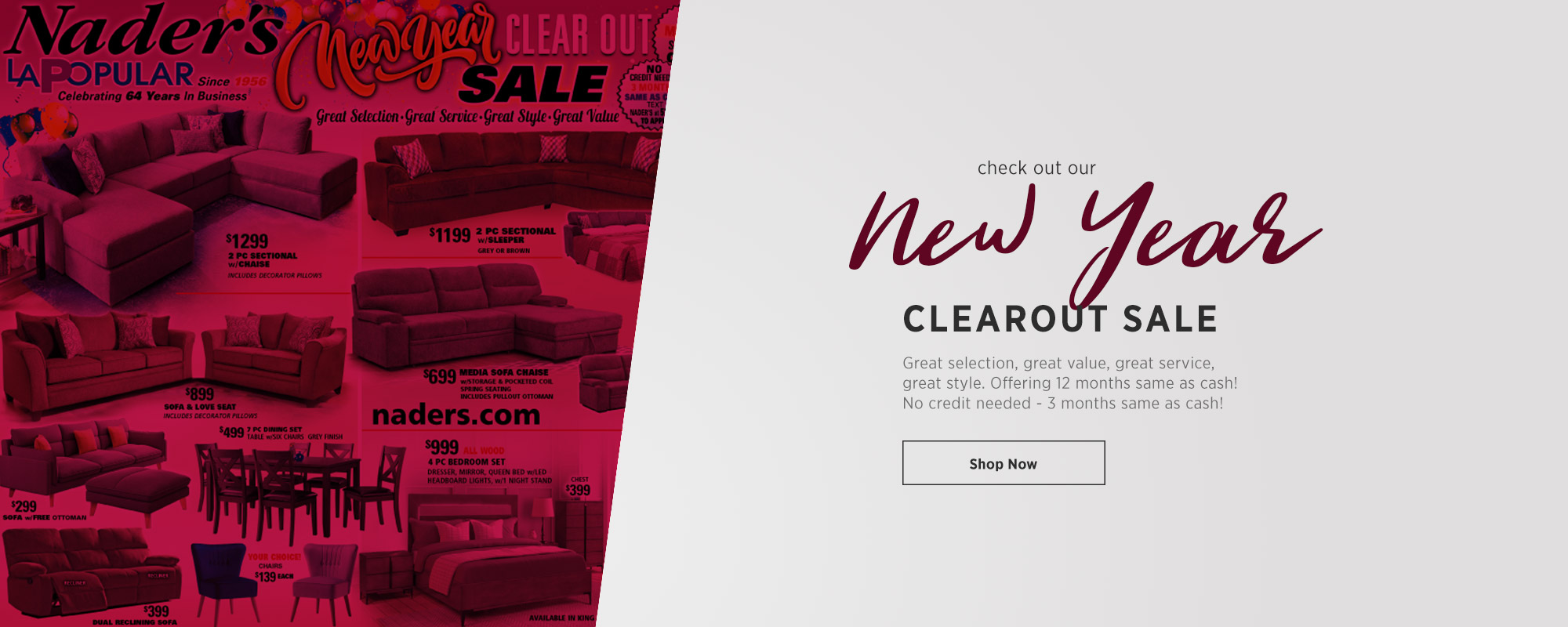 New Year Clearout Sale