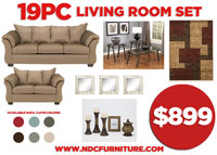 19pc Living Room Package