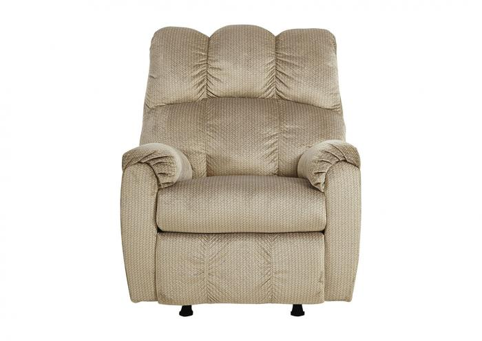 Foxfield Stone Rocker Recliner,Ashley Close Out