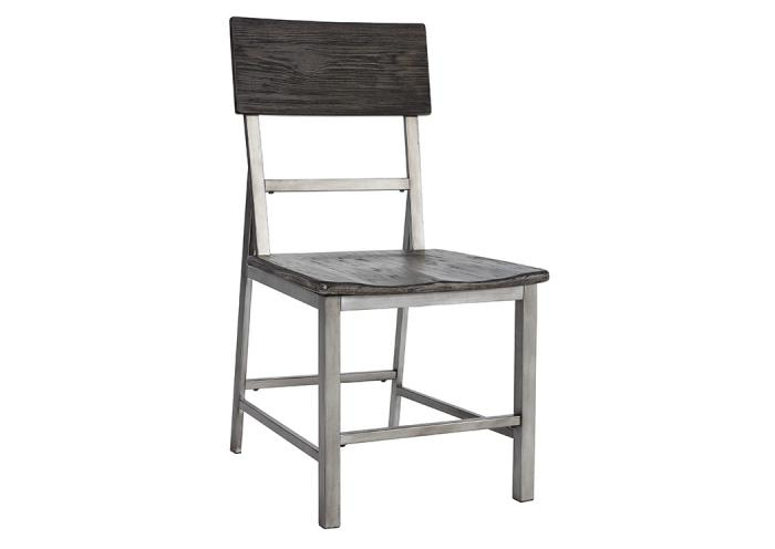 Raventown Grayish Brown Dining Room Side Chair (Set of 2),Ashley Close Out