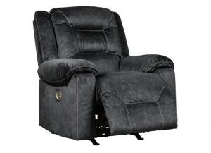 Image for Waldheim Gray Power Recliner