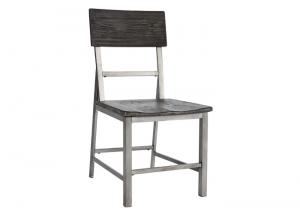 Raventown Grayish Brown Dining Room Side Chair (Set of 2)