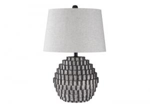 Image for Amarine Antique Black Poly Table Lamp