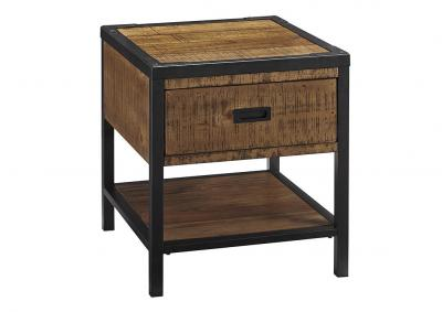 Image for Kalean Two-Tone Rectangular End Table