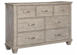 Image for Naydell Dresser Rustic Gray