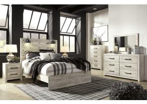 Cambeck Queen Panel Bed w/Dresser, Mirror and Nightstand