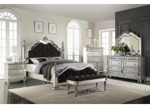 Image for King Bed, Dresser, Mirror and 1 Nightstand