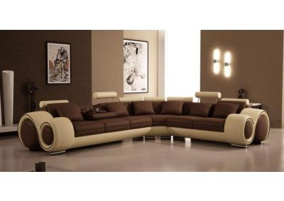 Image for Modern Bonded Leather Sectional