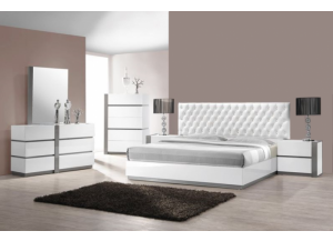 Image for Seville Queen bed, dresser, mirror, night stand