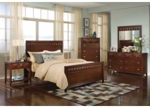 Image for Reflection King Panel Bed