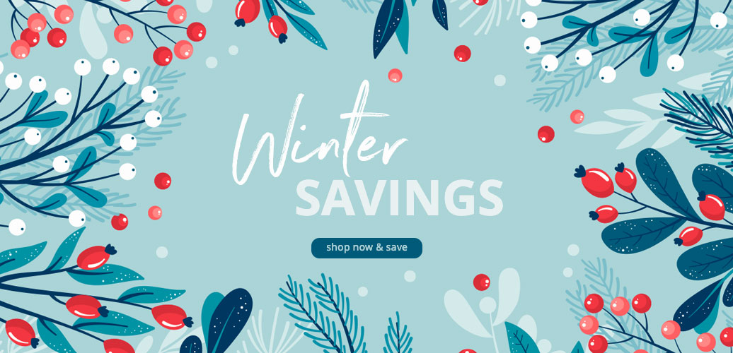 Winter Savings - Shop Now