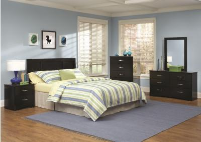 Image for Kith 115 Jacob Black Bedroom Group