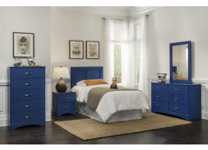 Image for Blue bedroom suite