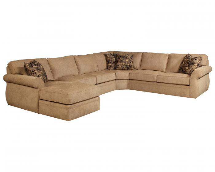 Veronica 4 Piece Sectional,BroyHill