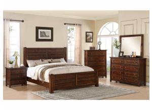 Image for Dawson Creek Group: King Bed, Dresser, Mirror and Night Stand