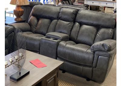 Image for Cheers 9597 Rocking Reclining Love Seat 25655 Gray