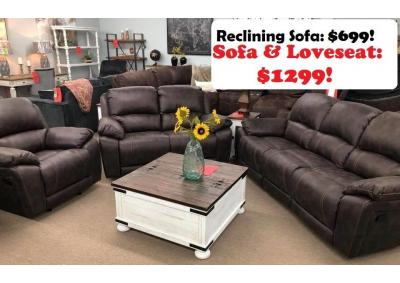 Image for Cheers 8532 Reclining Sofa & Reclining Loveseat 25711