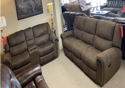 Image for Cheers 9507 Reclining Sofa & Rocking Reclining Love Seat 370