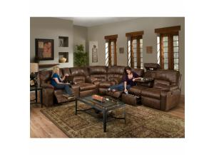 Image for Dakota Sectional Drop Down Table, Massage, Frosty Fridge, console
