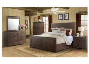 Image for Jax Bedroom Group: Queen Bed, Dresser, Mirror and Night Stand