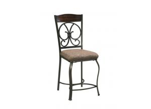 Image for Ashley Glambrey Brown Barstool