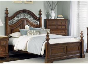 Image for 547 Laurelwood Queen Poster Bed