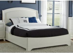 Image for 205 Avalon II Queen Platform Leather Bed