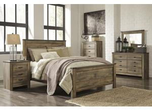 Image for Trinell Queen Panel Bed w/ Dresser, Mirror Chest and Nightstand