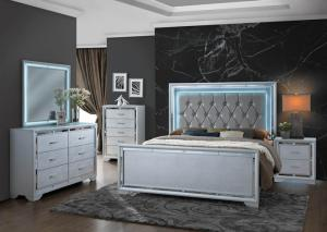 Image for Ralene King Bed w/Dresser, Mirror, Chest, and Nightstand