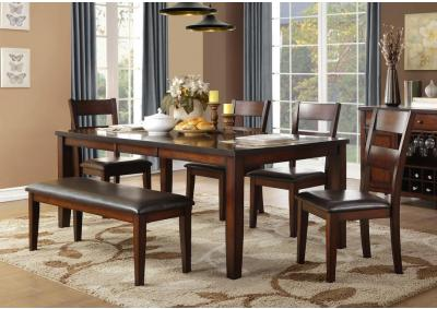 Image for Malta Standard Height Table w/Leaf 5pc. Dining Set