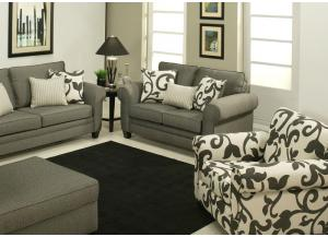 Image for Creek Loveseat in Gray
