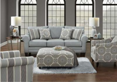 Image for Grande Mist Sofa w/Revolution Fabric