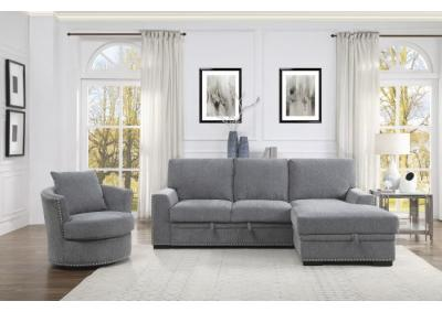Image for Morelia Right Chaise Sectional with Sleeper and Storage