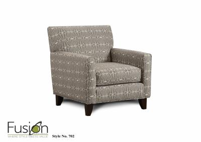 Image for Emblem Charcoal Chair - Sugarshack Glacier Collection