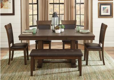 Image for Wieland Table w/B.Fly Leaf 5pc Dining Set