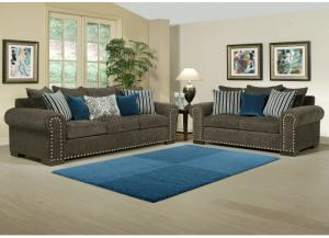 Image for Razor Loveseat in Charcoal