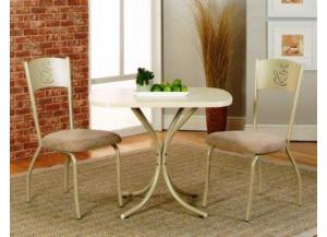 Image for Mocha 3 Piece Bistro Set