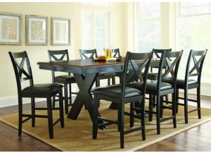Image for VIOLANTE 7PC COUNTERHEIGHT TABLE and 6 STOOLS