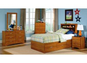 Image for Tanner Youth Twin Bookcase Headboard and Mates Bed