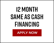 12 Month Same As Cash Financing