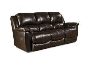 Image for Top Grain Leather Double Reclining Sofa