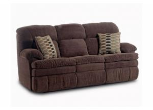 Image for Double Reclining Sofa with Pillows