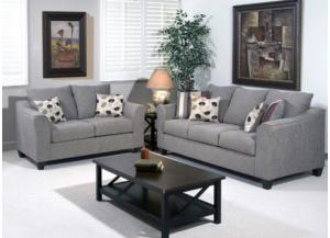Image for Serta Flyer Metal Sofa & Loveseat