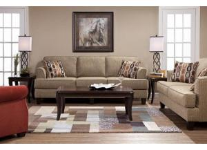 Image for Serta Bang Bang Beachglass Sofa & Loveseat
