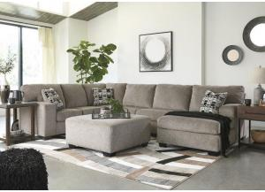Image for Ballinasloe Platinum 3 piece RAF Chaise sectional