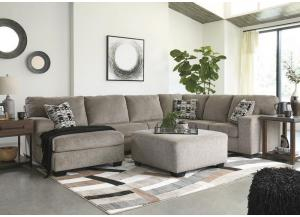 Image for Ballinasloe Platinum 3 piece LAF Chaise sectional